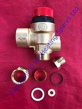 Wickes 2000 & Kombi 30/90 Boiler Sicherheits-überdruckventil 450906