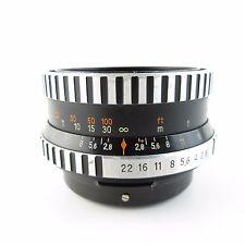 Für Pentacon Six aus Jena Zebra Biometar 1:2,8 f=80 Objektiv lens