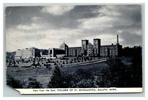 Vintage 1941 Postcard Panoramic View College of St. Scholastica Duluth Minnesota