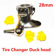 28mm Motorcycle Tire Changer Cast Steel Mount Demount Duck Head Protector Tools