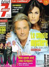 Télé 7 Jours N°2316 Chez Gregory lemarchal,Alain Delon Astrid Veillon