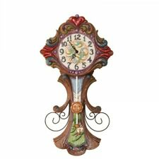"Heartwood Creek, Jim Shore. Pendeluhr ""Grandfather Clock"". 58 cm."
