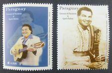 Paraguay 2013 Agustin barboza músico música Music ** mnh