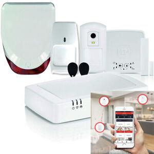 Honeywell EVO App System Smart Wireless Home Alarm Kit Security Siren Burglar