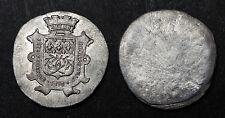 Médaille Uni Face FÊTE FÉDÉRALE GYMNASTIQUE 1876. Etain