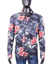 *Superdry Mens Shirt Vintage Retro Floral Pattern L