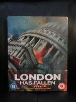 London Has Fallen Blu-Ray Steelbook [UK] New Sealed Region B Action