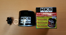 Mazda RX7 1.3L HKS Oil Filter + Magnetic Sump Plug