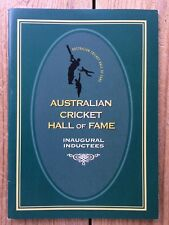 Australian Cricket Hall of Fame Inaugural Inductees, 1996 Official Booklet