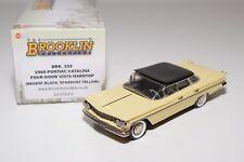 ~ BROOKLIN BRK 192 1960 PONTIAC CATALINA FOUR DOOR VISTA HARDTOP VN MINT BOXED