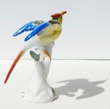 Meissen Porcelain Bird of Paradise Heron Bird Figurine Rudolf Deitrich #77028