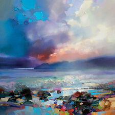 Scott Naismith-laguna-Lienzo Enmarcado Listo 40x40cm