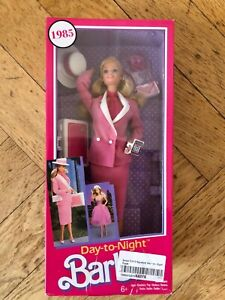 2017 Barbie Day-to-Night Reproduktion 1985 Mattel Vintage Neu in OVP