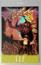 Ozzfest 2002 Tour - Laminated Backstage Pass - Vip - Ozzy Osbourne - Rob Zombie