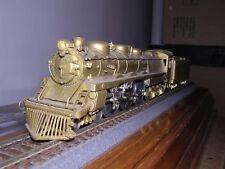"BRASS NJCustom #ST-204  B.& O. Class V-2 4-6-4 Steam Loco Unpainted  ""H.O.Gauge"""
