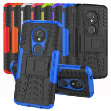 For Motorola Moto E5 Play / E5 Cruise Case Rugged Armor Kickstand Phone Cover