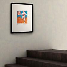 """Pearl Jam Virginia Beach"" 'Supreme Hipster' Framed Fairchild Paris Wall Art"