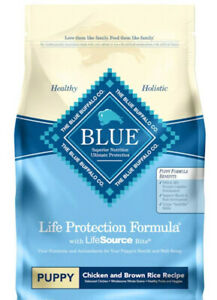 Blue Buffalo Life Protection Formula Puppy Dog Food Natural Dry 6 lb
