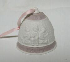 Lladro Annual Porcelain Christmas Bell 1987