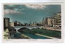 Puente De Isabel II - Gerona Real Photo Postcard c1930s / Spain