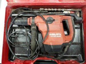 Hilti TE 50-AVR Hammer Drill Corded Electric Combi hammer W/ Case And Bits