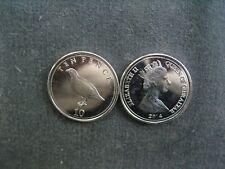 NU) Gibraltar 1 Pence 2014  Tier Vogel Huhn Rebhuhn Fasan  Großbritannien UK GB