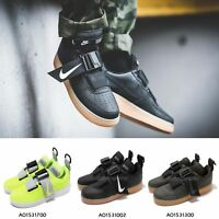 Nike Air Force 1 Utility AF1 Gum Mens Kids Sneakers Black / Green / Volt Pick 1