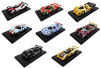 Set of 8 Model Cars 24h Le Mans - 1:43 Spark Diecast Racing Car LM29