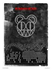 Radiohead Poster Art Print 30x40cm