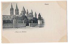 CPA 14 - CAEN (Calvados) - Abbaye aux Hommes - Dos non divisé