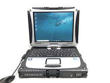 Panasonic Toughbook CF-19 MK6 TOUCHSCREEN i5 3320m 2.6GHz 128GB SSD 4GB Win 10