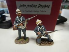 John Jenkins RLM-01 Royal Marine Light Infantry 2 figures loading