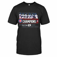 Chicago Cubs Baseball NL Central Division 2020 Champions Kris T-shirt S-5XL