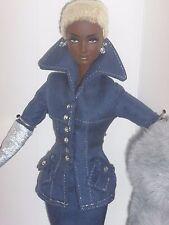 NRFB top Limited ed. byron lars Model Designer Indigo Obsession AA sueño Barbie