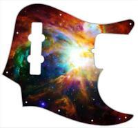 J Jazz Bass Pickguard Custom Fender Graphical Guitar Pick Guard Orion Nebula 2