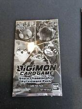 More details for digimon tcg 2020 sealed store championship participant pack diaboromon tentomon