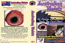 Rob Woolliss Set 1 - Showracers DVD & AUSTRALIAN VIOLETS DVD, Racing Pigeons