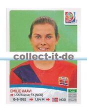 Panini Frauen WM World Cup 2015  - Sticker 152 - Emilie Haavi