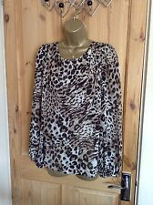 Party Animal Print Long Sleeve Women's Tops & Shirts Not Multipack