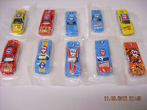 Richard Petty HOT WHEELS Cereal Prizes Cheerios Lucky Charms Wheeties Sealed F1