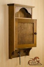 3 manopole in legno marrone chiaro 6 chiavi di casa Hanger Holder ganci per Armadio-AFFARE!