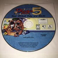Ubisoft Petz Dogz & Catz 5 PC CD-ROM Virtual Pets Game Disk Only