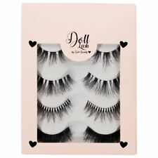 Doll Beauty Lashes High Quality Lashes - Doll Lashes Human Hair 4 Pack