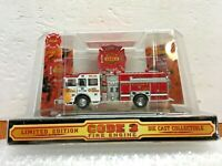Code 3 Sutphen Fire Rescue Pumper Engine-1 Volunteer Fire Dept. 1/64 Scale