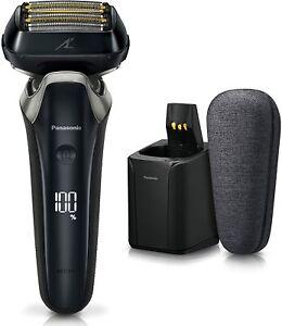 Panasonic ES-LS9AX-K Lamdash Linear Men's Shaver 6 Blades Craft Black
