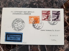 1931 Vienna Austria Graf Zeppelin postcard cover Sieger Lorch Germany w/cert C29
