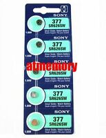 Sony SR626SW 626 SR626 Silver Oxide Battery 377 SR66 1.55V JAPAN Genuine
