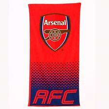 ARSENAL FC FADE BEACH & BATH TOWEL COTTON NEW OFFICIAL FOOTBALL