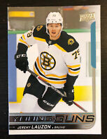 Jeremy Lauzon 2018-19 Upper Deck Hockey Young Guns #456 Boston Bruins RC