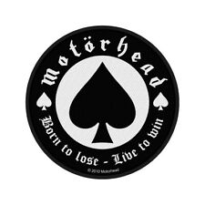 Motorhead Standard Patch: Born to Lose (Loose)